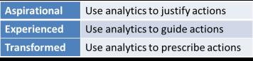 Analytic Maturity Model