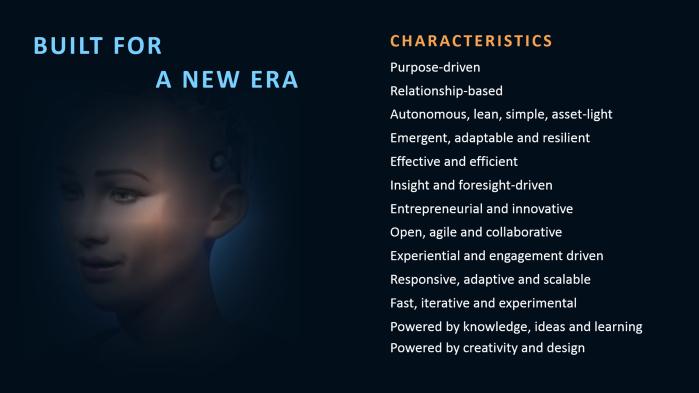 New Era Characteristics