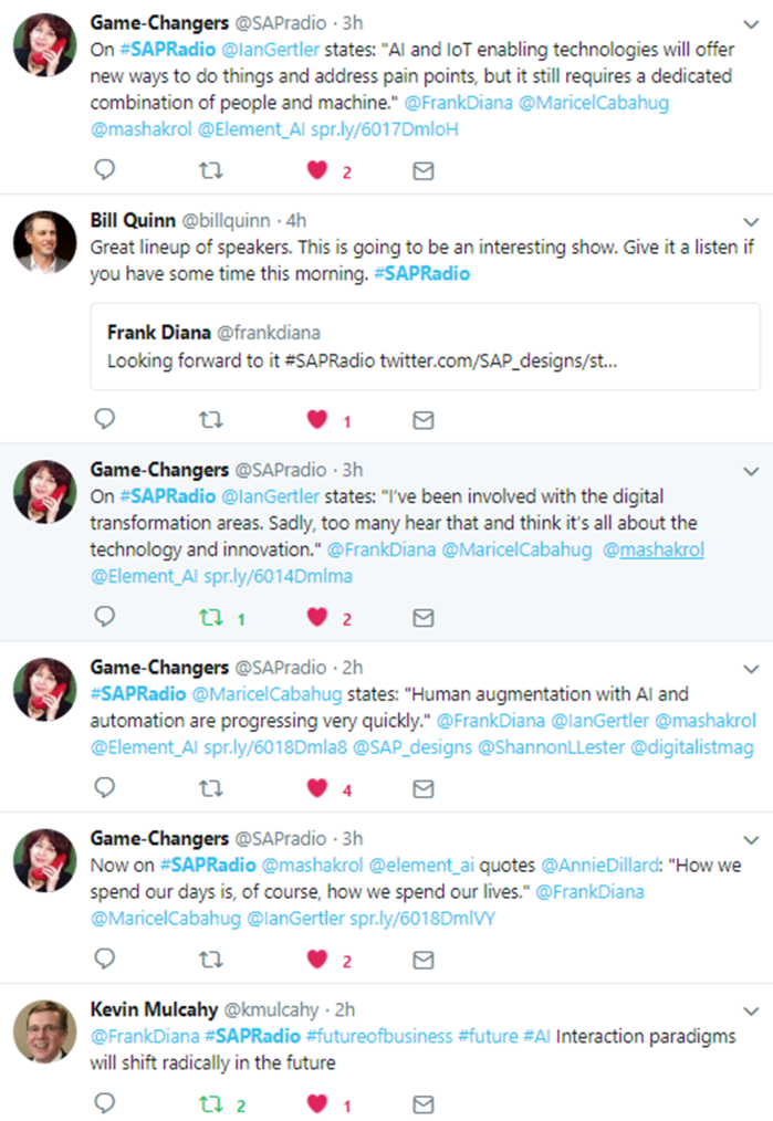 June 26 Game Changers Twitter Stream 3