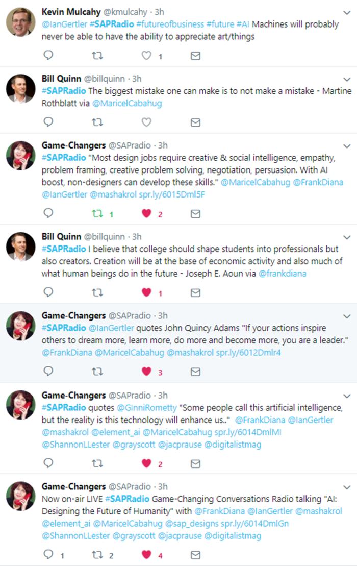 June 26 Game Changers Twitter Stream 5