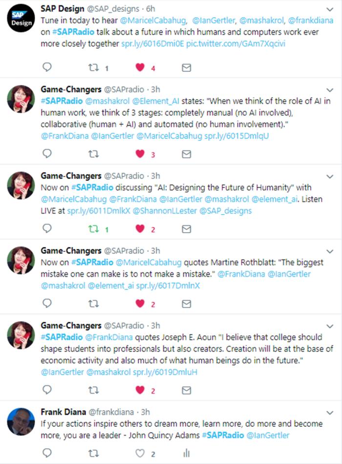 June 26 Game Changers Twitter Stream 6